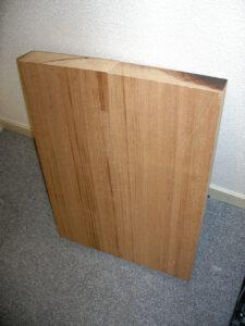 自作ギター木材アフリカンマホガニー